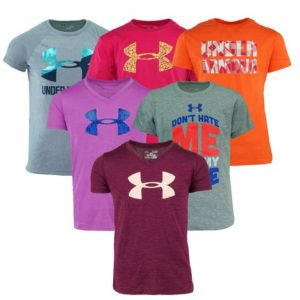 Under Armour Girls' Mystery T-Shirt 3-Pack Only $20 Shipped! ($6.67/shirt)