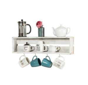 Coffee Shelf with Hooks was $39.99, NOW $17.99!