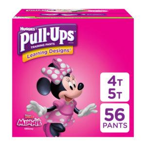 Walmart: Huggies Pull-Ups 56 count as low as $11.99!!