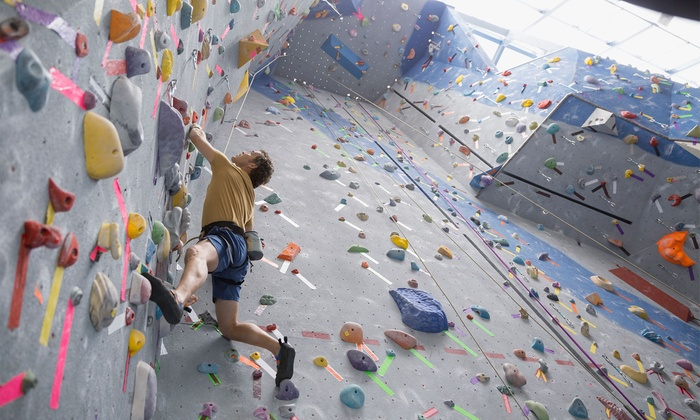 Upper Limits Rock Climbing Family Deluxe Pass for 4 (Climbing & Gear) Only $30!!