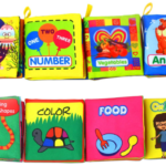 Set of 8 Baby's First Non-Toxic Soft Cloth Books Only $13.99!