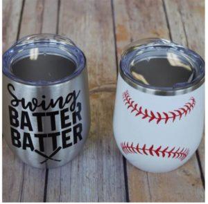 Baseball Wine Tumblers was $24.99, NOW $12.99!