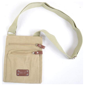 Canvas Crossbody Bag Only $18.99 + FREE Shipping!