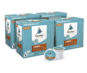 Caribou Coffee Caribou Blend K-cups, 72 count as low as $25.02! ($0.35/cup)