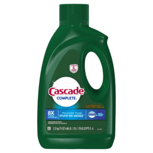 Cascade Complete Gel Dishwasher Detergent, 75 oz Only $3.97!