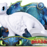 Dreamworks Dragons Lightfury Deluxe Plush Dragon Only $13.20!