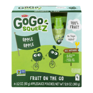 Meijer: GoGo Squeeze Applesauce 4 count as low as $1.53!