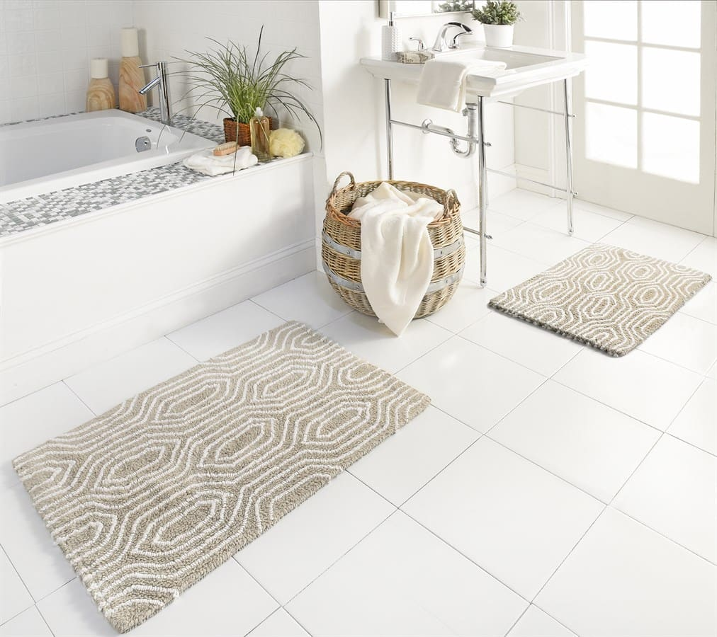 Throw Rugs At Dollar General: Grain Bath Rug, 2 Piece Set Only $16.99 Shipped!