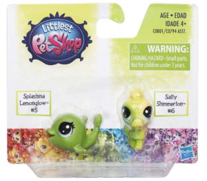 Littlest Pet Shop Splashina Lemonglow & Salty Shimmerton Set Only $5.99!