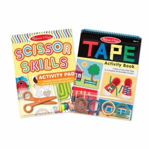 Melissa & Doug Scissor Skills and Tape Activity Pad Set Only $9.99!