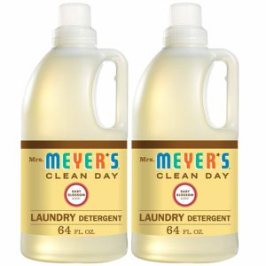 Mrs. Meyer's Laundry Detergent, Baby Blossom, 64 fl oz (2 ct) as low as $19.40 Shipped!