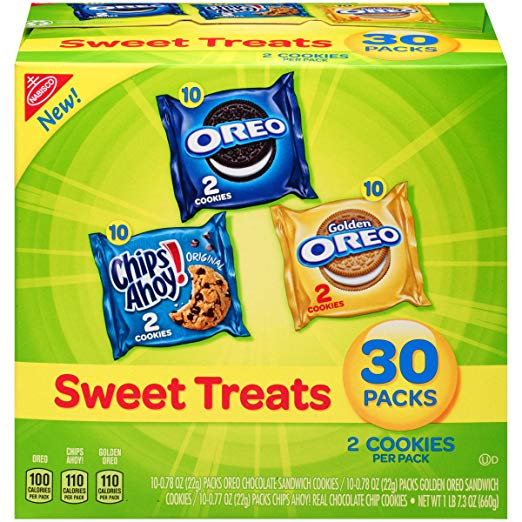 Nabisco Cookies Sweet Treats Variety Pack