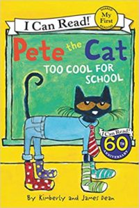 Pete the Cat: Too Cool for School Only $3.99!