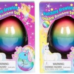 Set of 2 Surprise Hatching Growing Unicorn Rainbow Eggs Only $6.83!