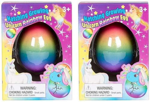 Hatching Growing Unicorn Rainbow Eggs