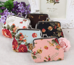 Vintage Floral Coin Purse Only $2.46 + FREE Shipping!