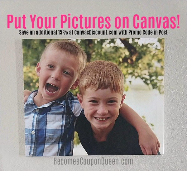 Put Your Pictures on Canvas with CanvasDiscount.com!