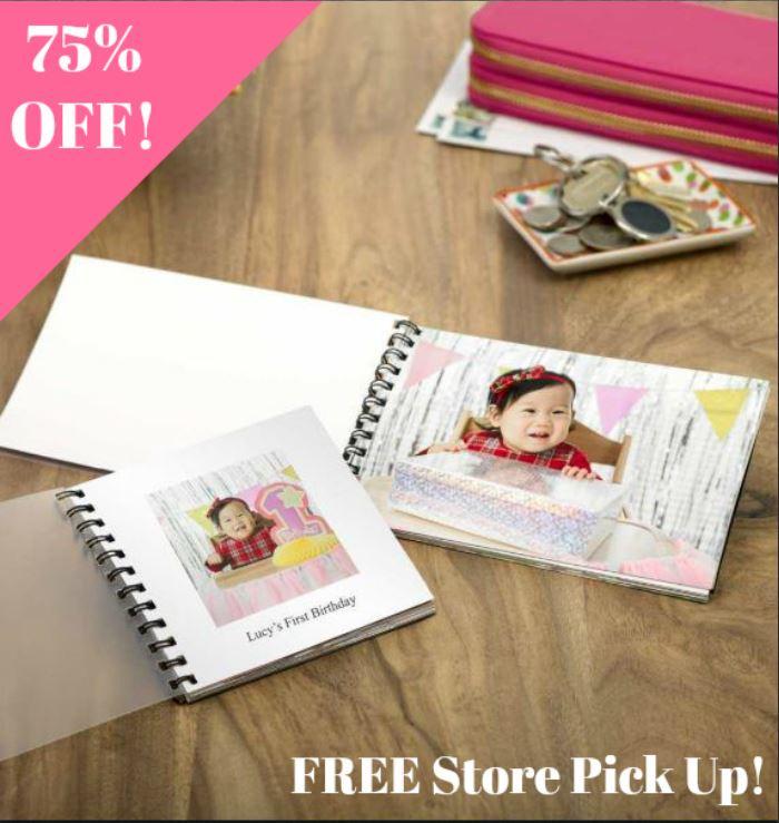 $1.75 Photo PrintBook + FREE Store Pick Up at Walgreens!