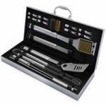 16-Piece Stainless Steel BBQ Grill Tool Set Only $24.60!