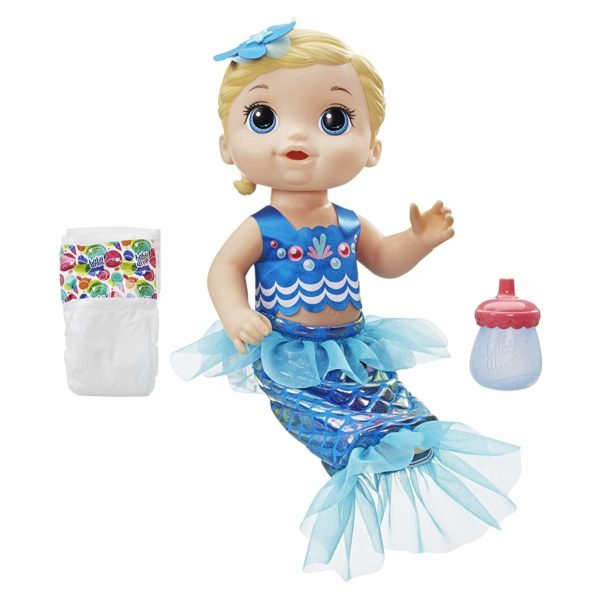 Baby Alive Shimmer 'n Splash Mermaid Doll