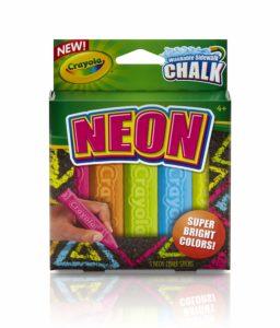 Crayola Neon Sidewalk Chalk – $4.99!