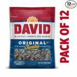 DAVID Jumbo Sunflower Seeds, Pack of 12 as low as 8.91!