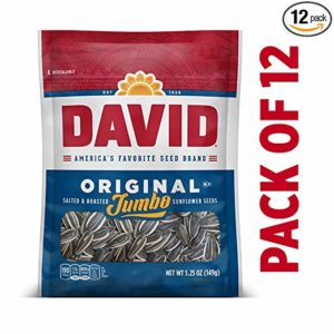 DAVID Jumbo Sunflower Seeds, Pack of 12 Only $10.48!