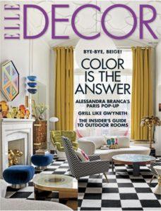 Elle Decor Magazine Just $4.95 per Year! (cover price $45)