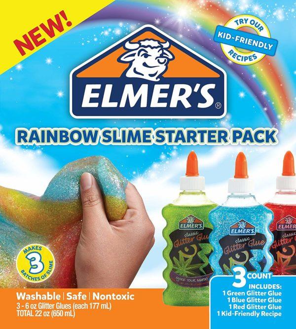Elmer's Rainbow Slime Starter Kit