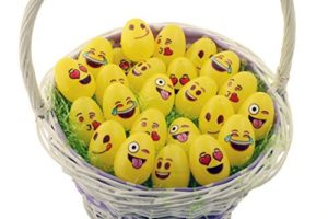 Pack of 24 Emoji Easter Eggs