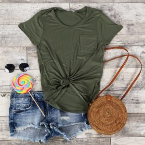 Everyday Pocket Tee Only $7.99!