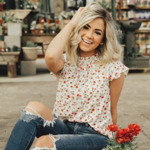 Field of Flowers Top was $39.99, NOW $16.99!