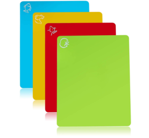 Flexible Plastic Cutting Boards 4-Pack Only $8.95!