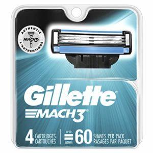 Gillette Mach3 Men's Razor Blades, 4 Count Only $7.99!