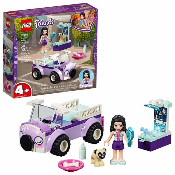 LEGO Friends Emma's Mobile Vet Clinic Building Kit