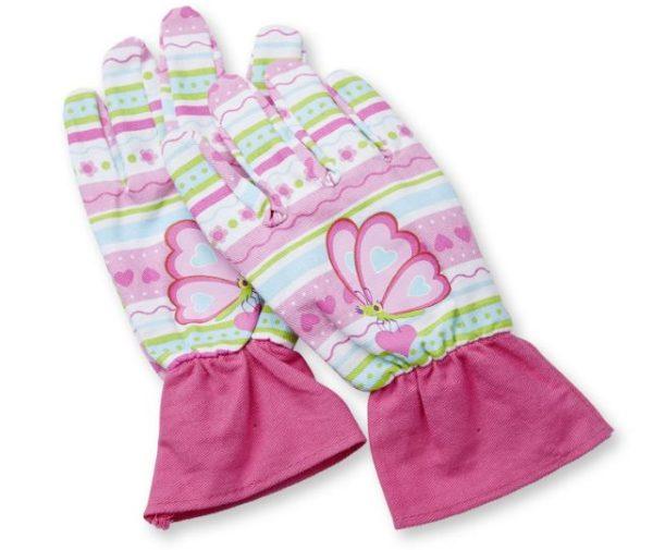 Melissa & Doug Cutie Pie Butterfly Gardening Gloves