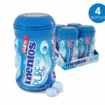 Mentos Sugar-Free Chewing Gum, 50 Piece Bottle (Pack of 4) as low as $8.06 Shipped!