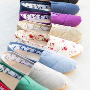 Perfect Spring Slip-On Flats was $39.99, NOW $13.99!
