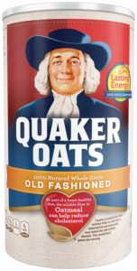 Quaker Old Fashioned Oats, 18 oz Only $1.90!