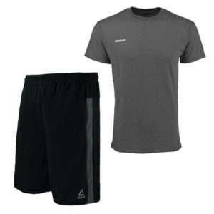 Reebok Men's Workout Shorts and T-Shirt Set Only $14.99 Shipped!