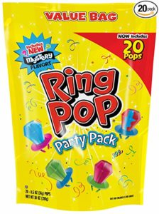 Ring Pop Candy Lollipops, 20 Count Bag as low as $5.93 Shipped!