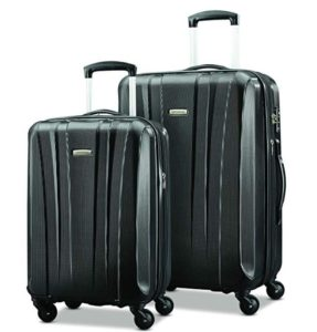 Samsonite Pulse Dlx Lightweight 2 Piece Hardside Set Only $110.81!