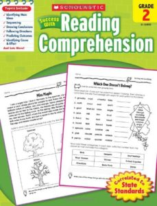 Scholastic Success with Reading Comprehension Only $2.95!
