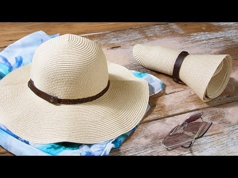 Sunlily Roll-n-Go Sun Hat Only $13.99 Shipped!