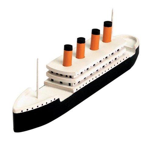 Titanic Wood Model Kit