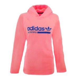 adidas Women's Logo Hooded Sweatshirt 2 for $40 Shipped! ($20 each)