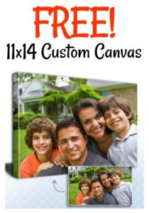 FREE 11×14 Custom Canvas + 65% OFF Everything at CanvasPeople!