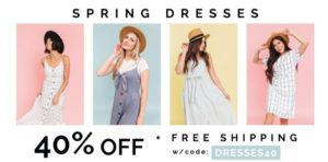 Cents of Style Dress Sale as low as $14.97 + FREE Shipping!!