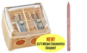 New Milani Cosmetics Products Coupon! As low as $1.47 at Walgreens!