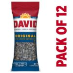 David Roasted and Salted Original Sunflower Seeds 12-Pack as low as $4.62!